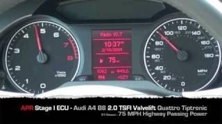 APR Stage 1 - Audi A4 (B8) 2.0 TFSI Valvelift Quattro Tiptronic
