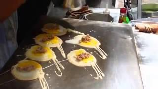 Quail egg crepes  !!!