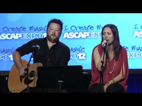 """Hillary Lindsey - """"Jesus, Take The Wheel"""" at the 2012 ASCAP """"I Create Music"""" EXPO"""