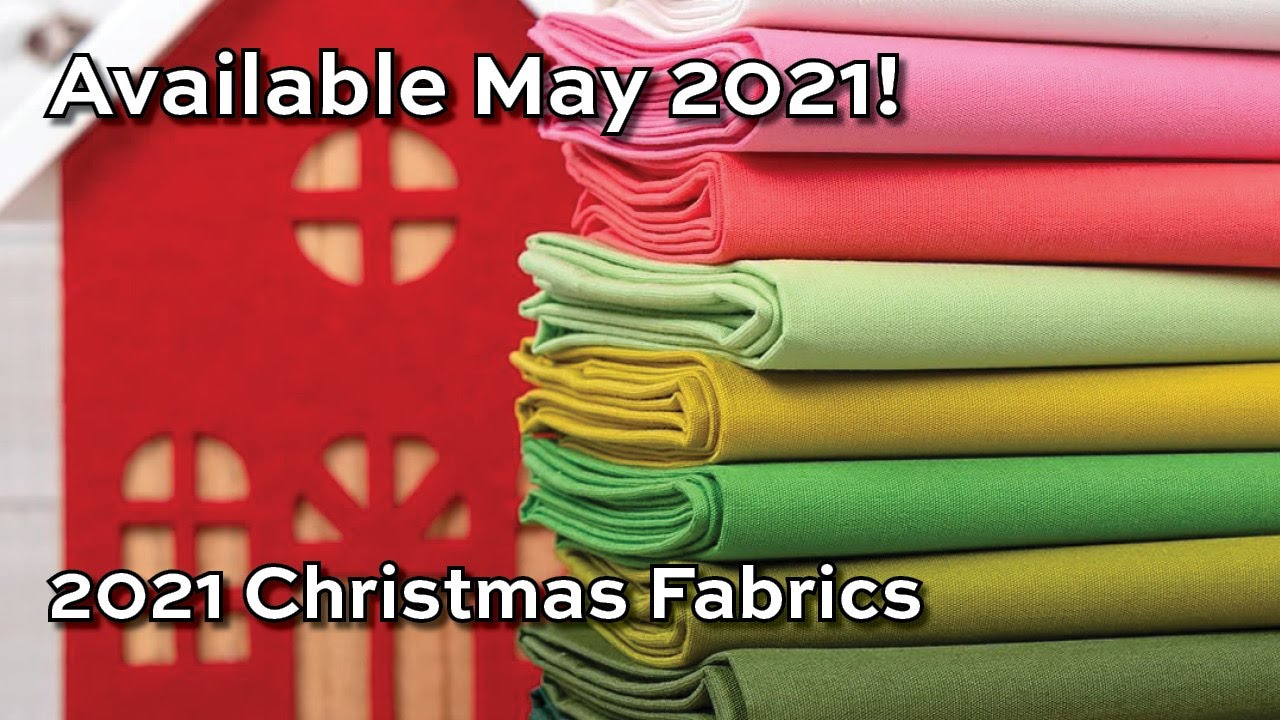 Christmas Fabric 2021 Release New Fabric Release Christmas 2021 Youtube