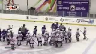 Eight-Year-Old Russian Hockey Players Are World's Worst In Sports