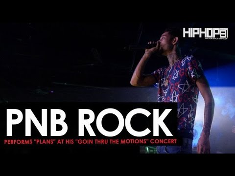 "PnB Rock Performs ""Plans"" at His ""GTTM: Goin Thru The Motions"" Concert"