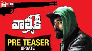 Varun Tej's Valmiki Movie PRE TEASER Update | Pooja Hegde | Harish Shankar | DSP | Telugu Cinema