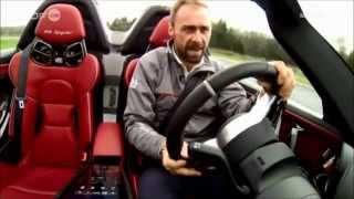 Reportage Porsche 918 avec Gérald Wéry au Pôle Mécanique des Ardennes