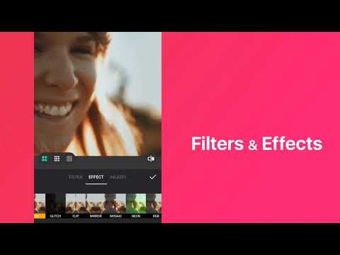 Inshot تصميم فيديوهات و تعديل الفيديوهات التطبيقات على