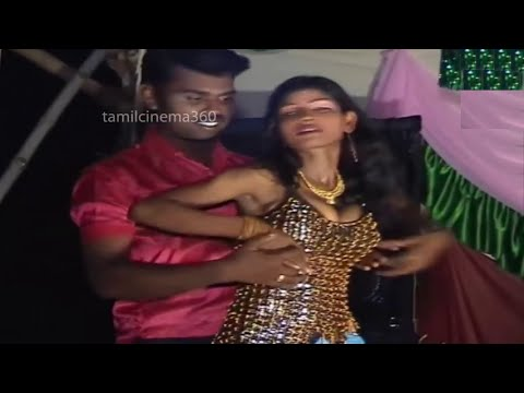 Telugu girls  Record Dance Tamilnadu Village Latest Adal Padal
