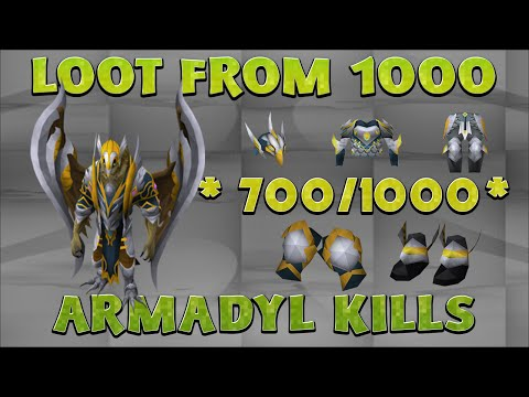 RuneScape 3 - 700/1000 Armadyl Boss Loots - Almost Done!