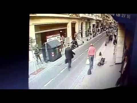 Impactante video: tiroteo y muerte en el microcentro porteño