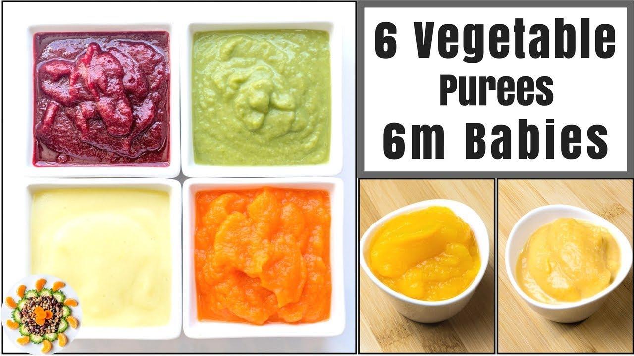 Pureed Food Recipes Baby Homemade