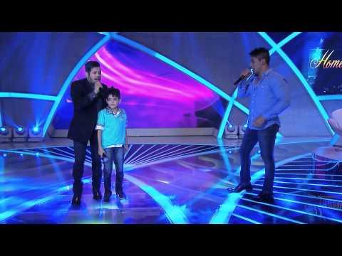 Programa Raul Gil - Alexandre Nunes (OAmor de Antes) - Homenagens Hugo e Tiago