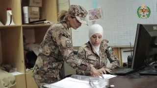 فيديو ..الجيش الاردني يبث تسجيلاً تعريفياً بالسرية النسائية