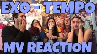 Exo  엑소  - Tempo  템포  Mv Reaction  This Was A Whole Meal!