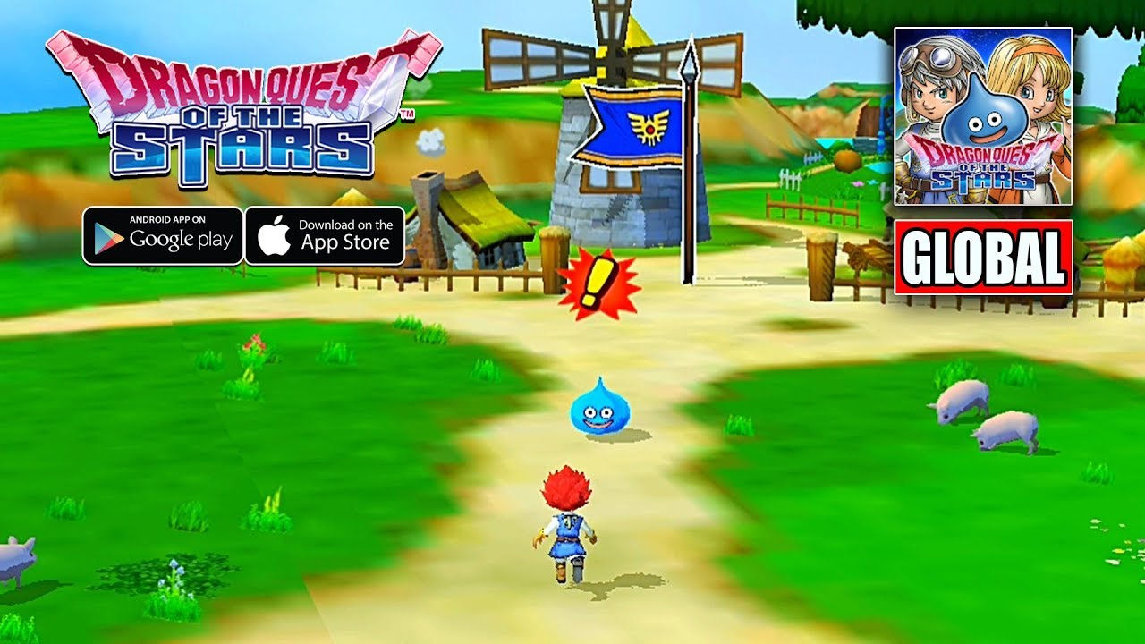 Dragon Quest Of The Stars Global Version Gameplay Android Ios Youtube