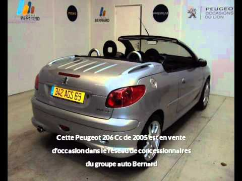 peugeot 206 cc occasion en vente bourg en bresse 01 par peugeot bourg en bresse youtube. Black Bedroom Furniture Sets. Home Design Ideas