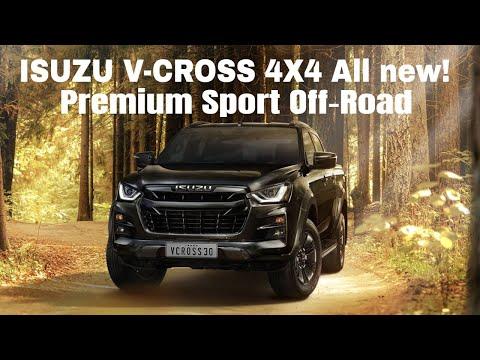 All new Isuzu V CROSS 4X4 D Max Premium Sport Off-Road