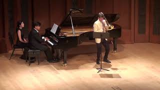 Brian Wendel - Stephenson Sonata for Trombone and Piano, 1st movement - LIVE