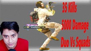 35 Kill Duo Vs Squad Savage Gameplay | Rank Pushers Ki laga Di Watt