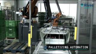 Video: Paletizado y Despaletizado. Palletizing and depalletizing