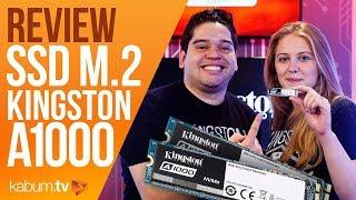 SSD 20x mais rápido? KINSGTON A1000 M.2