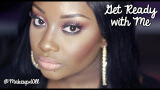 Get Ready With Me | Champagne & Roses!  (makeup)