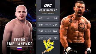 UFC 2 БОЙ Федор Емельяненко vs Юрий Бойка (com.vs com.)