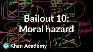 Bailout 10: Moral Hazard