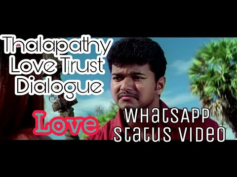 Love status - Trusted boys | Thirumalai - Thalapathy vijay | WhatsApp status