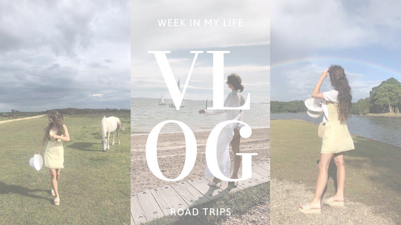 VLOG: WEEK IN MY LIFE: Road trips po Anglicku, update o sťahovaní & ako prebieha točenie TIK TOKU