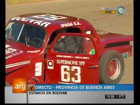 Vivo en Argentina - Bolivar, Buenos Aires - Deportes: TC - 06-06-12