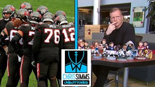 Chris simms and ahmed fareed preview the super wild card game between tampa bay washington provide updated nfl odds for team's to end season ...