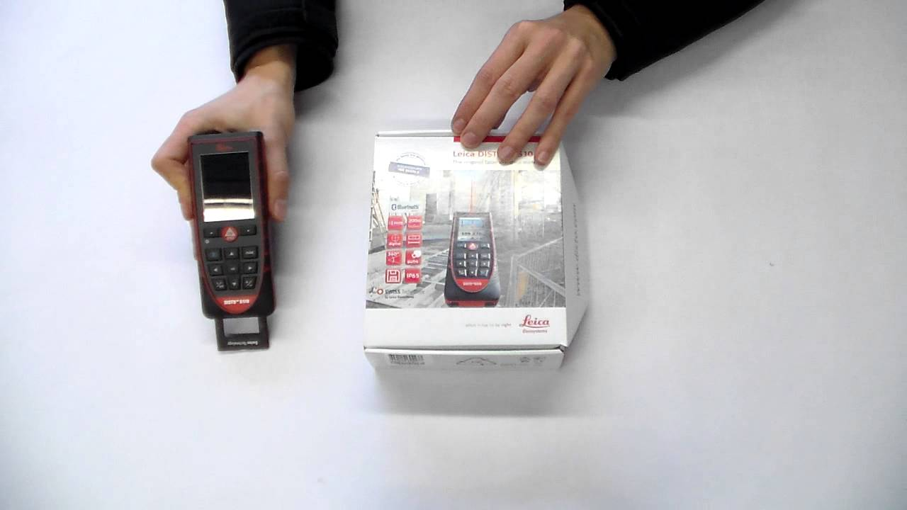 Leica Entfernungsmesser Disto D2 New Bluetooth : Leica disto d unboxing bei messfreunde de youtube
