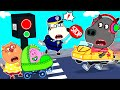 Wolf Family🌞 Kids Safety Tips for Crossing the Street - Wolfoo Learns Safety Tips for Kids