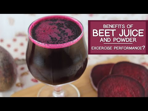 Benefits Of Beet Juice And Powder, Potential For Enhanced Exercise Performance
