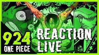 LA VOLONTÉ DES ROIS !! - Réaction live chapitre one piece 924