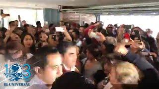 Barbosa se registra como candidato a la gubernatura de Puebla
