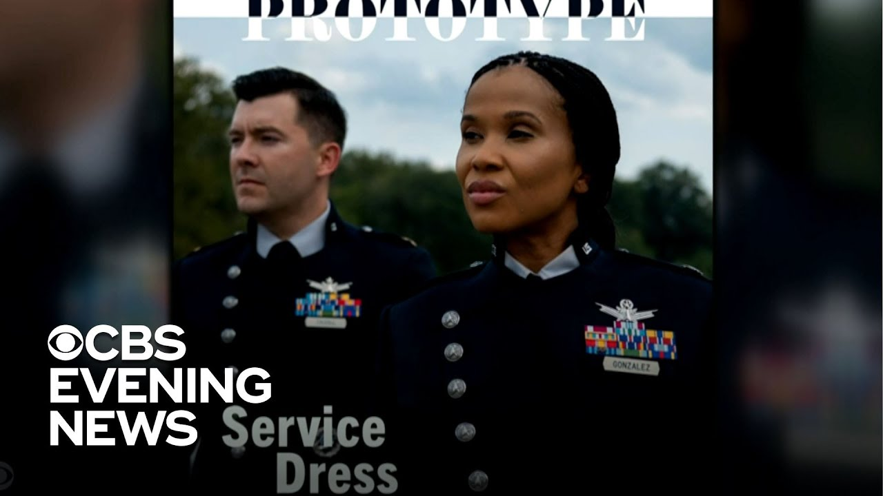 The Space Force's prototype dress uniforms look like something out ...