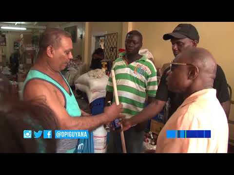 West Coast Demerara communities get from government and other agencies aid after weekend flooding