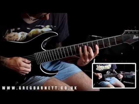 Melodic Metal Instrumental Shred | Riffs, Solos & Grooves | Greg Barnett