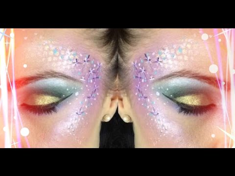 fun  easy starburst fantasy makeup  youtube