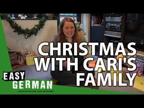 Christmas with Cari's family | Easy German 121