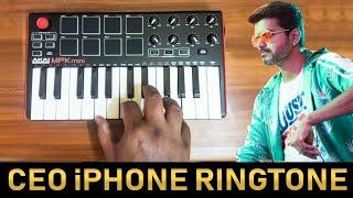 Sarkar - Ceo in The House | iPhone Ringtone By Raj Bharath |