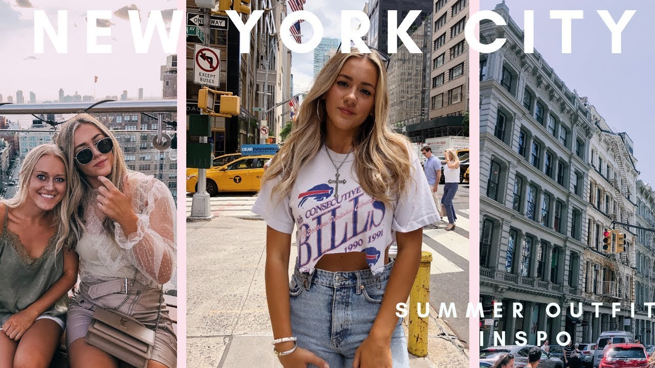[VIDEO] - NYC VLOG | SUMMER OUTFIT IDEAS 8