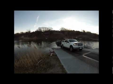 Lewis And Clark Ford >> The Walleye Guys Fishing Lewis And Clark In Yankton Sd On 11 21 12