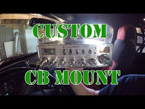 Jeep Wrangler TJ Custom CB Mount Install