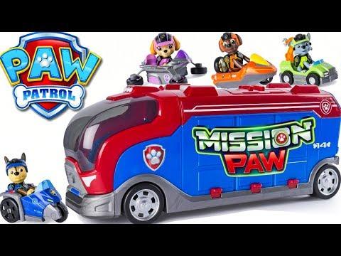 Paw Patrol Mission Cruiser Patroller Adventure Bay Super Pups Chase Marshall Rocky Skye Zuma Ryder