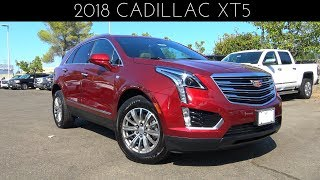 2018 Cadillac XT5 3.6 L V6 Review & Test Drive