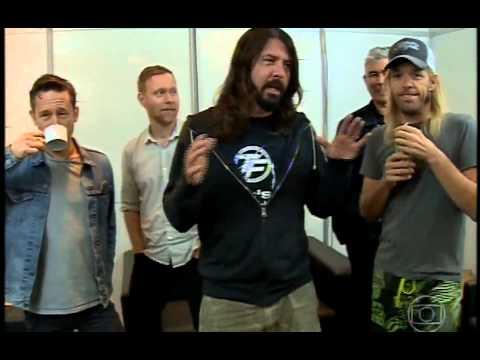 Reportagem Foo Fighters no Jornal da Globo 22 01 2015