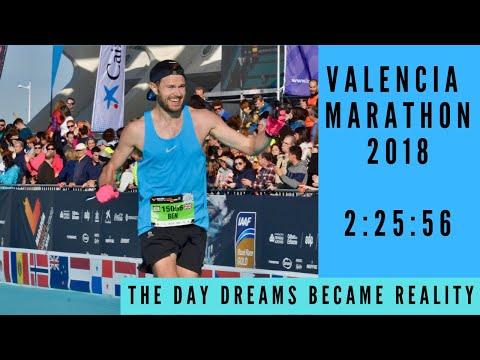 VALENCIA MARATHON 2018 - 2:25:56 - The Day Dreams Became Reality!