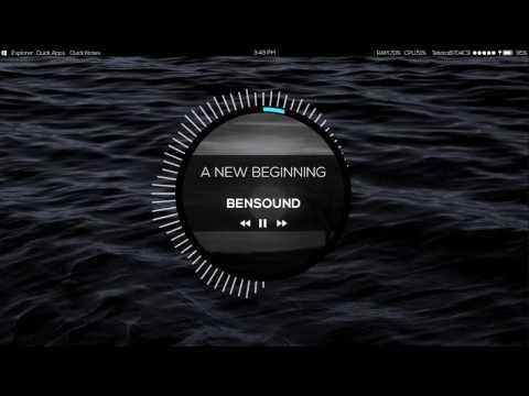 Rainmeter Skin - RoundSound Preview