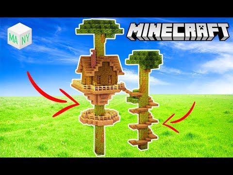 Minecraft Tutorial : CASA NA ÁRVORE SUPER ÉPICA !!!